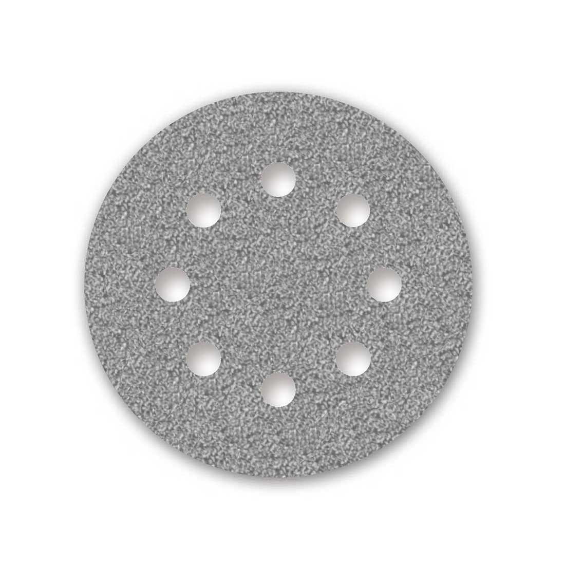 50 Dischi abrasivi autoadesivi MioTools per levigatrice roto orbitale /Ø 125 mm Grana 320-8 fori